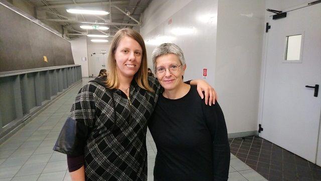 Elisabetta e Carmen, docenti