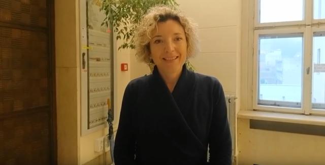 Sara, docente universitaria